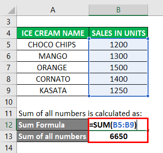 Sum of all numbers 2