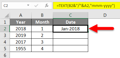 Specified Date Format