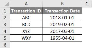 Concatenate Date Example 4-1