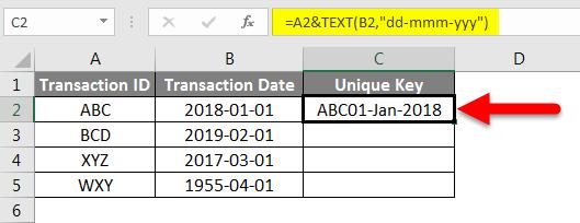 Concatenate Date Example 4-2