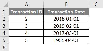 Concatenate Date Example 5-1