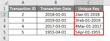 Concatenate Date Example 5-3
