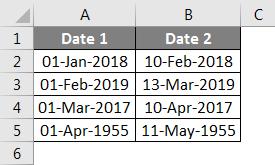 Concatenate Date Example 6-1