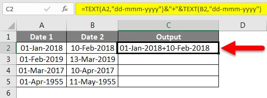 Concatenate Date Example 6-2