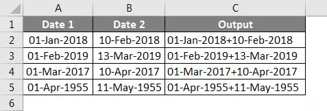 Concatenate Date Example 6-3