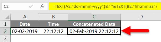 Concatenate Date Example 7-2