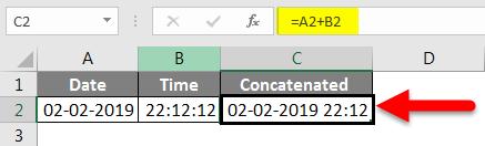 Concatenate Date Example 7-3