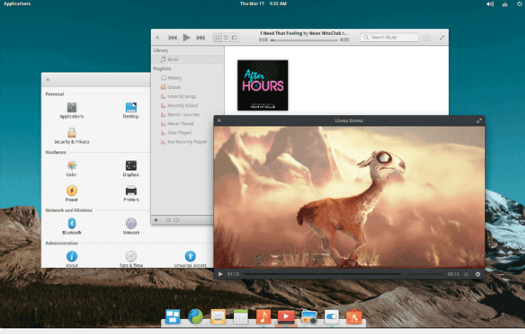 Linux Alternatives - Elementary OS