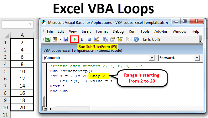 Excel VBA Loops