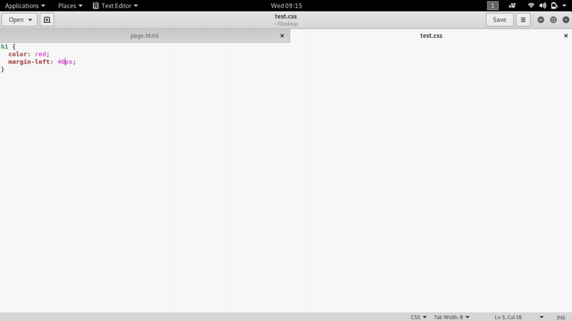 External CSS file input