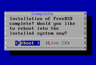 Install FreeBSD 22