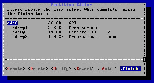 Install FreeBSD 10