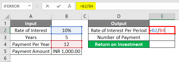 FV Formula Example 1-2
