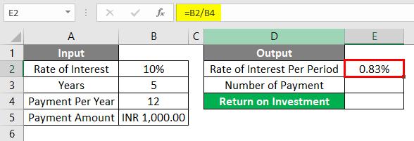 FV Formula Example 1-3
