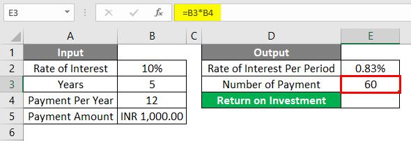 FV Formula Example 1-5