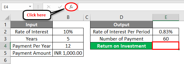 FV Formula Example 1-6