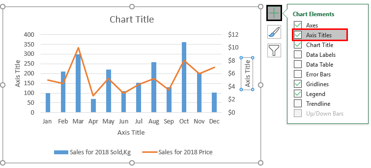 Chart Excel Template 1-7