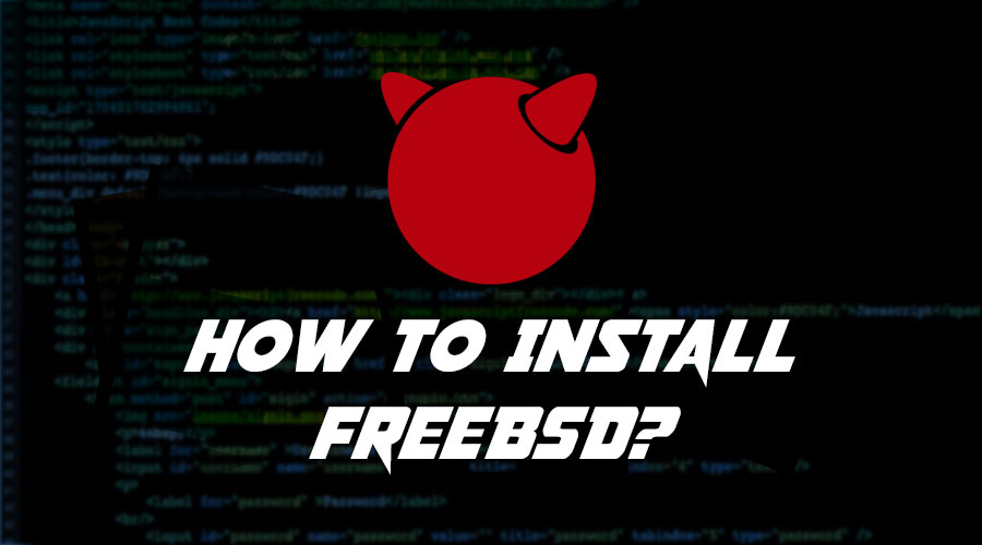 How to Install FreeBSD