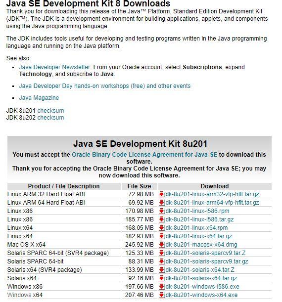 Java SE Development Kit