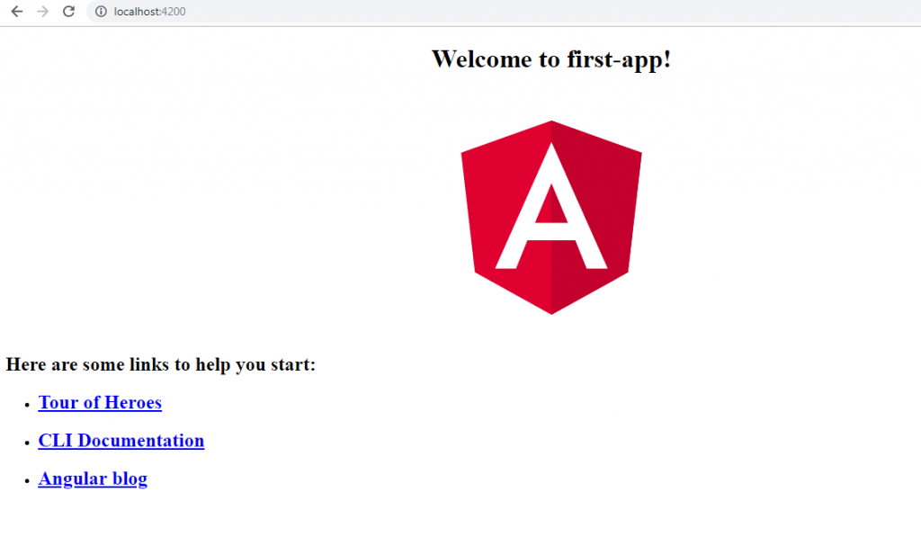 Angular 2 Installation step 18