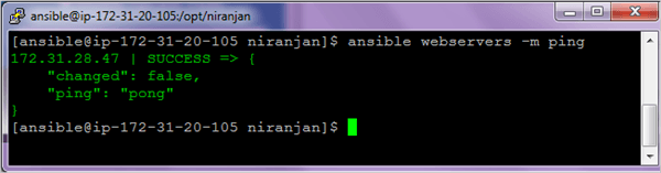 Ansible Installation Step 10