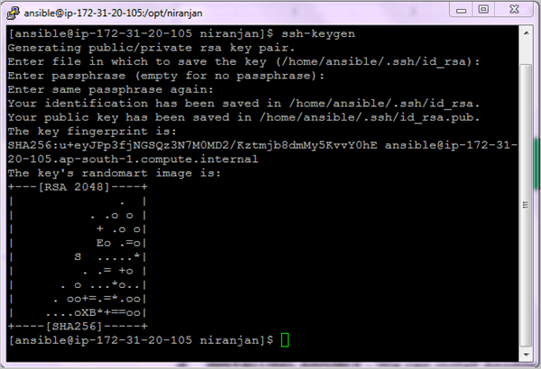 Ansible Installation Step 5-2