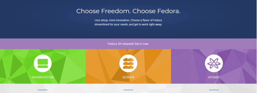 Install Fedora 1