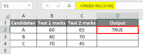 Logical Test Example 3-2