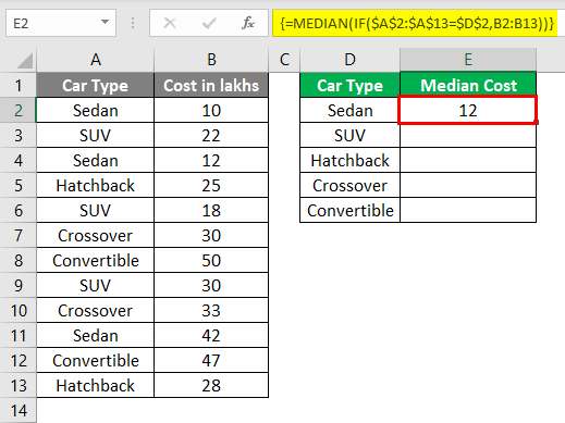Median Example 3-4