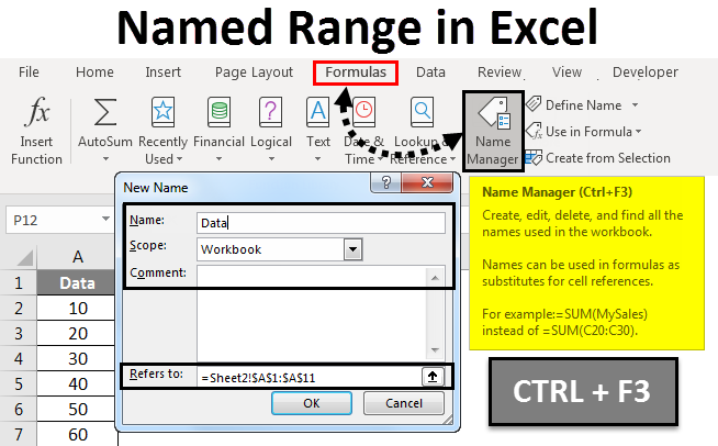Named Range in Excel