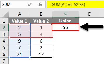 Union Example 1