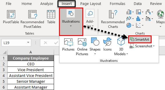 Organization Chart Example 1-1