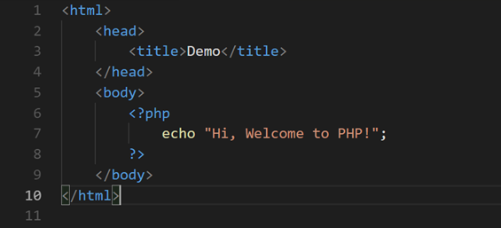 PHP Example