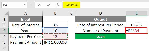 PV Formula Example 1-4