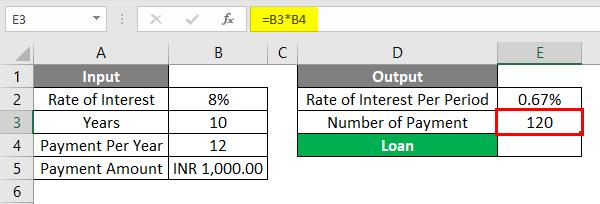 PV Formula Example 1-5