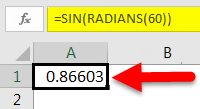 SIN Function example 1-6