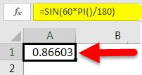 SIN Function example 2-3