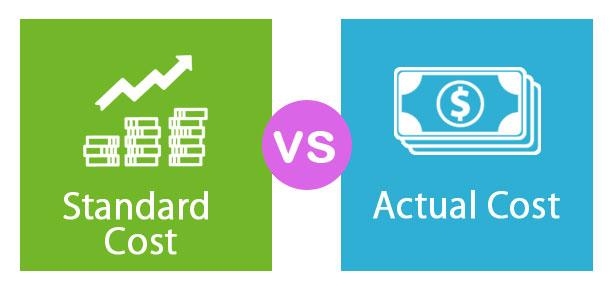 Standard Cost vs Actual Cost