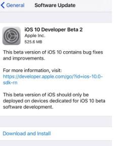 Step 3 iOS install