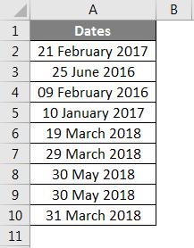 Week Numbers (Date)