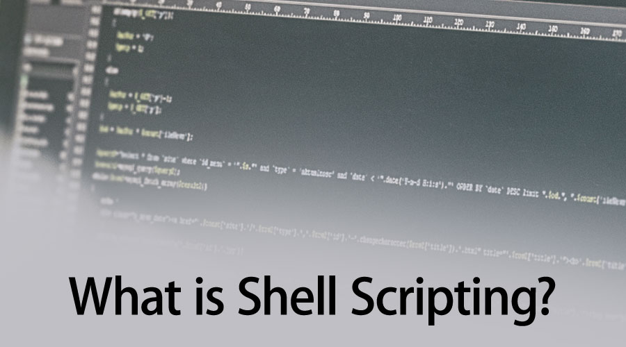 What is Shell Scripting