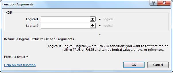 XOR Function Example 1-5