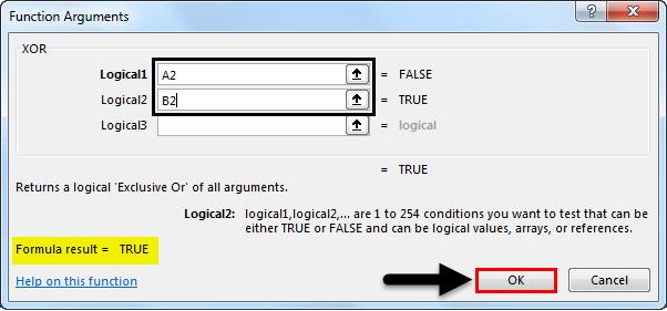XOR Function Example 1-6