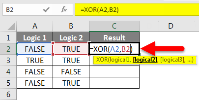 XOR Function Example 2-3