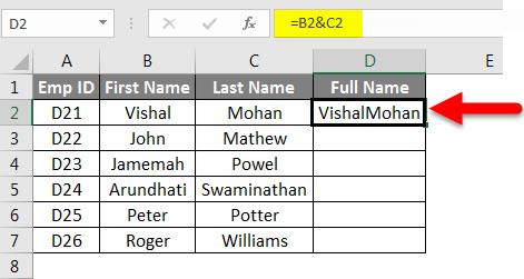 concatenate example 2-2