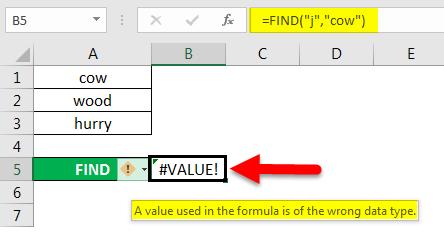find in excel method 2-2