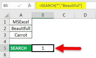 find in excel method 3-1