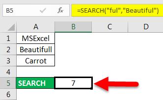 find in excel method 3-2