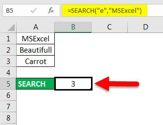 find in excel method 3-3