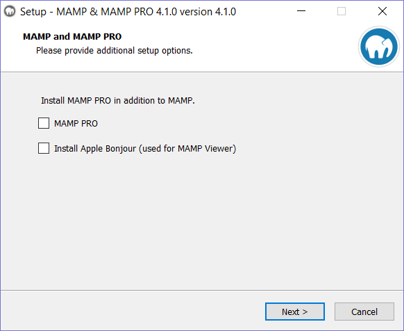 AMP Installation step 2